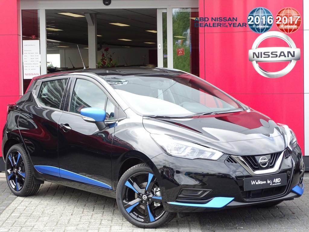 Nissan Micra 1.0l acenta actie prijs, van €19.250,- nu voor €18.250,-