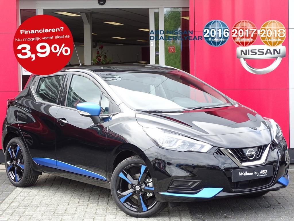 Nissan Micra 1.0l acenta actie prijs, van €19.250,- nu voor €17.250,-