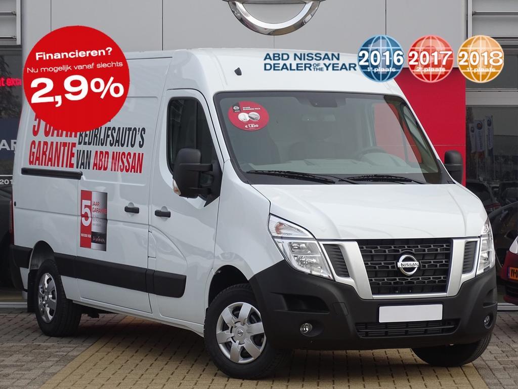 Nissan Nv400 2.3 dci l2h2 optima normaal rijklaar voor €30.500, nu rijklaar voor €23.950,-