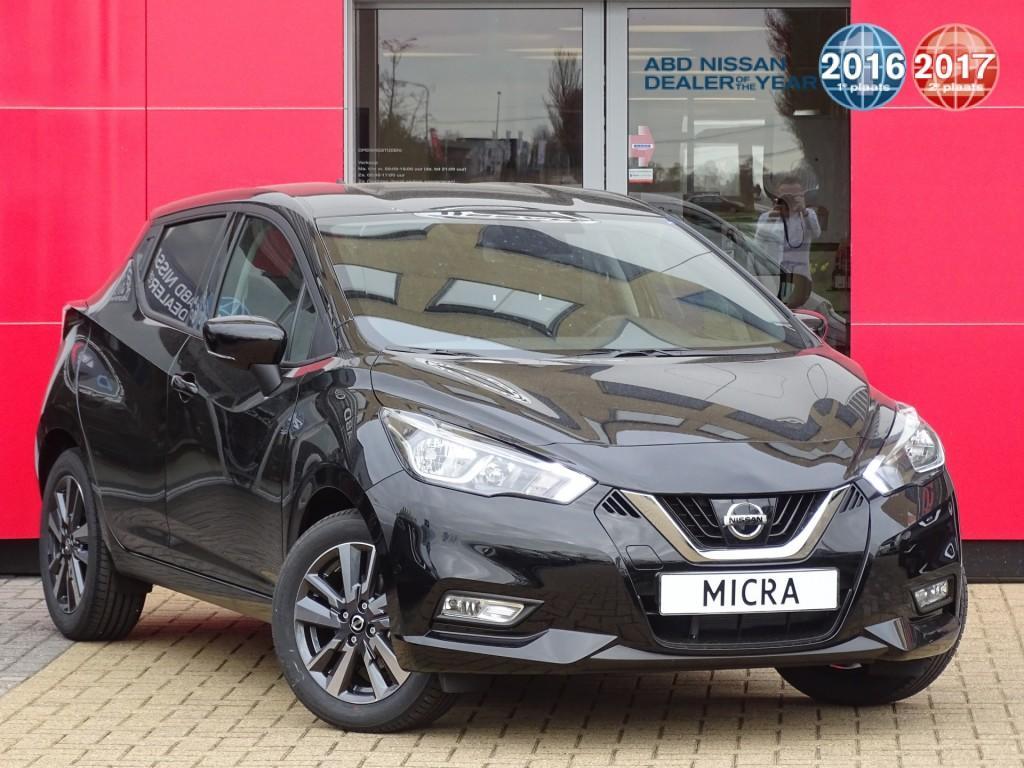 Nissan Micra Ig-t 90pk n-connecta actie prijs, van €20.250 nu voor 19.250,-
