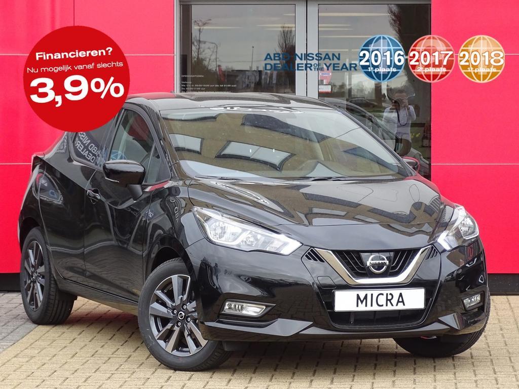 Nissan Micra Ig-t 90pk n-connecta actie prijs, van €20.250 nu voor 18.250,-