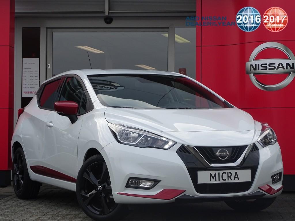 Nissan Micra 0.9 ig-t n-line normaal rijklaar €22.250,- nu rijklaar €20.250,-