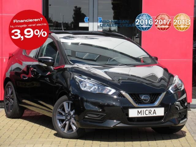 Nissan Micra Ig-t 90pk abd edition nu rijklaar van €20.450,- voor €17.950,-