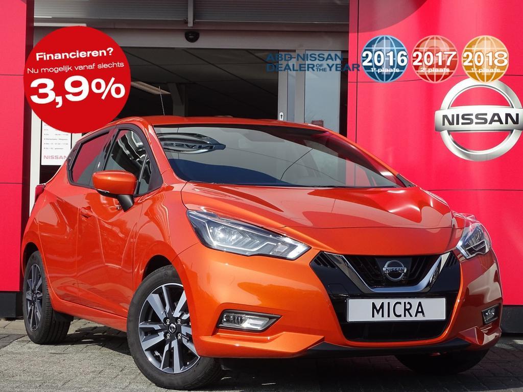Nissan Micra 0.9 ig-t n-connecta normaal rijklaar voor €22.250,- nu rijklaar voor €18.250,-