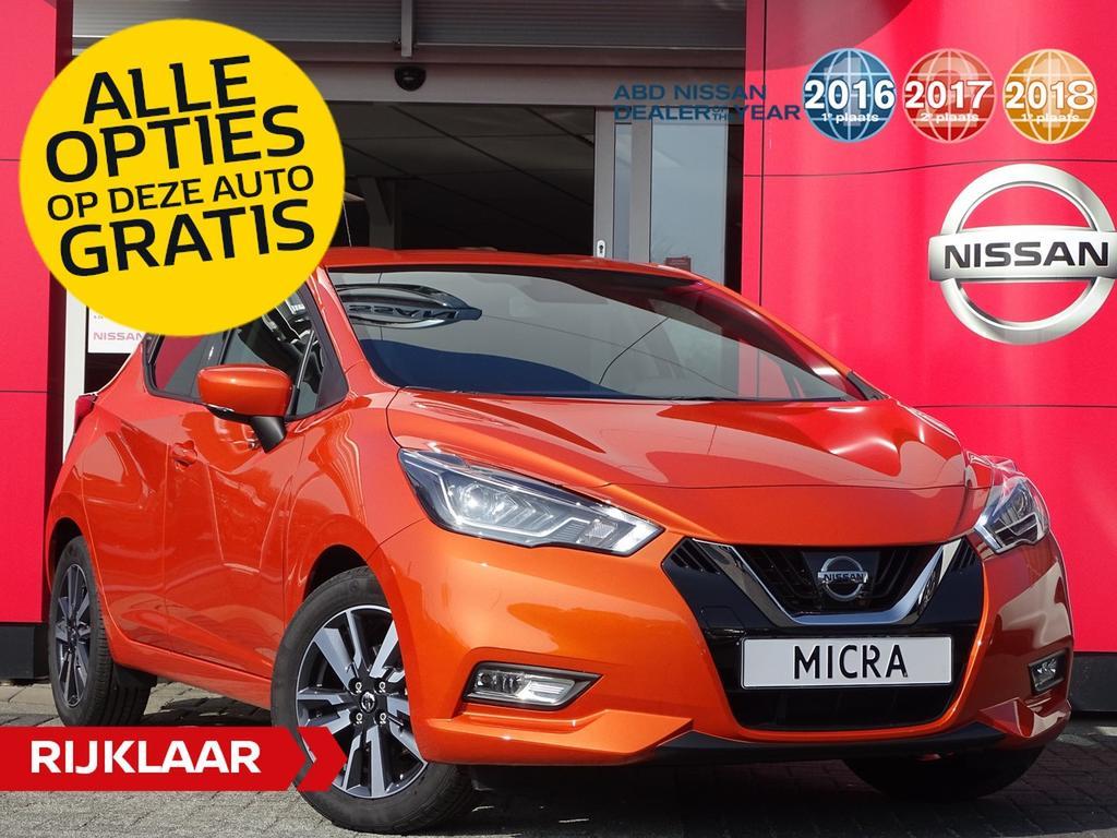 Nissan Micra Ig-t 90pk n-connecta €2.250,- euro korting + alle opties gratis!