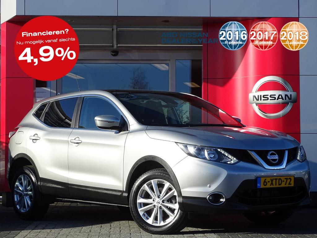 Nissan Qashqai 1.2 connect edition automaat