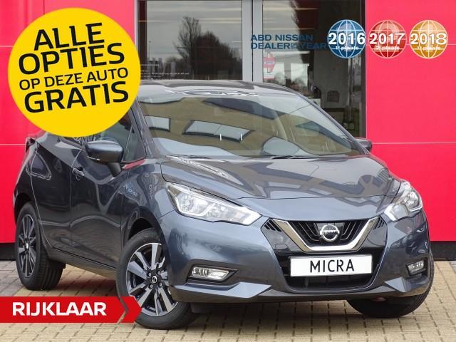 Nissan Micra 0.9 ig-t acenta €1.000,- euro korting + alle opties gratis!