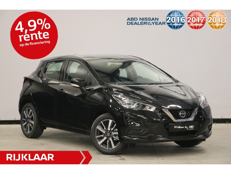 Nissan Micra 0.9 ig-t acenta actieprijs! normaal €20.450,- nu rijklaar €18.945,-