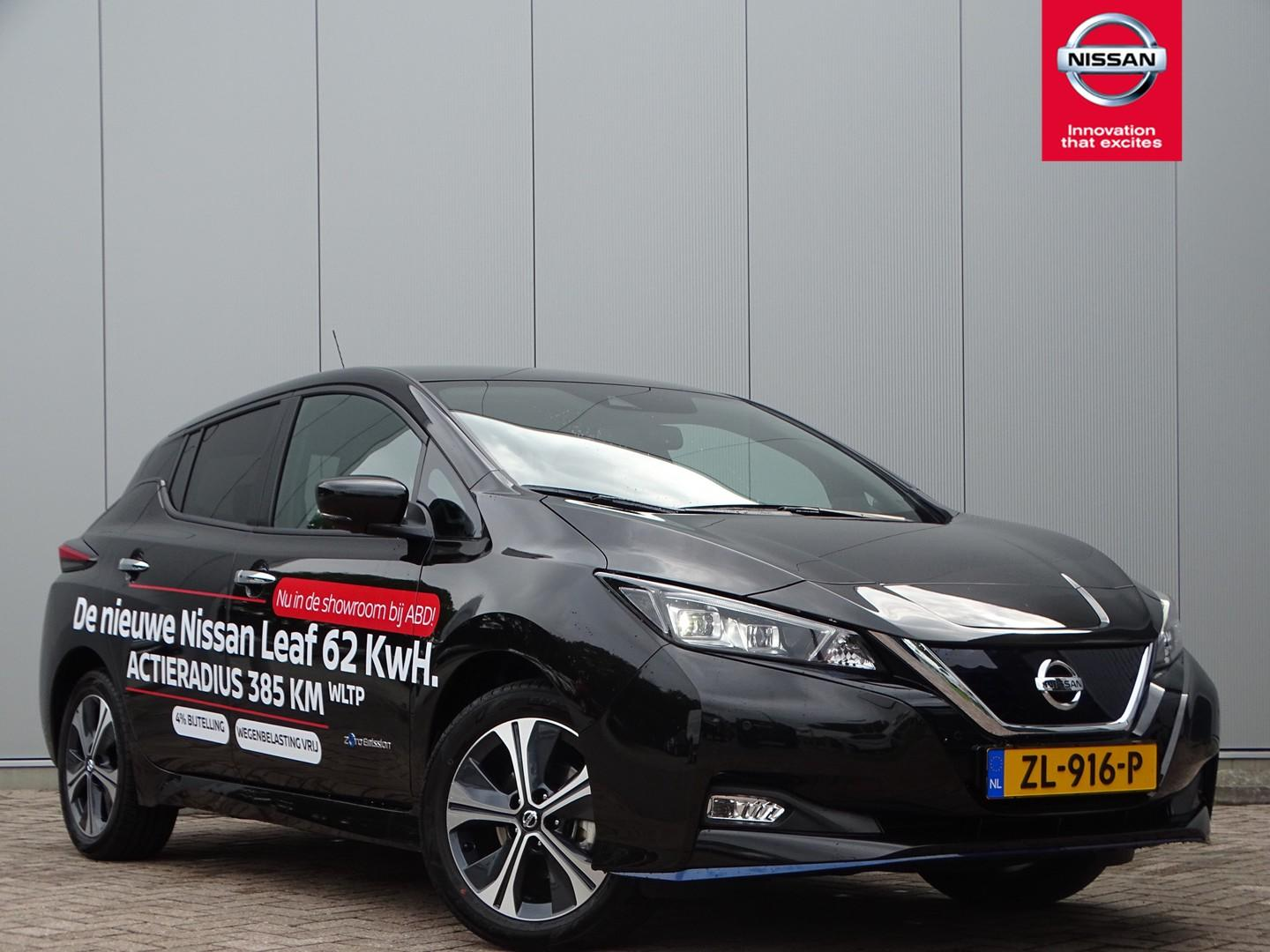 Nissan Leaf E+ tekna 62 kwh excl. btw