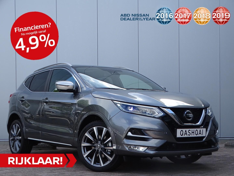 Nissan Qashqai 1.3 dig-t 160pk tekna plus + dynamic pack actie prijs! van €44.795,- nu rijklaar voor €40.950,-