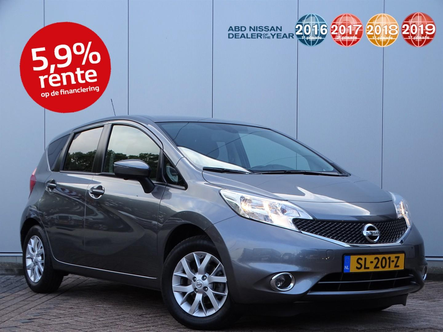 Nissan Note 1.2 connect edition *nieuw staat*