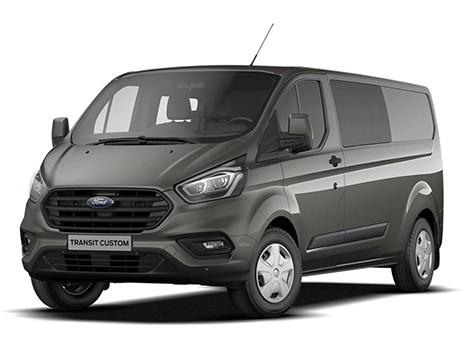 Ford Transit custom 300 l2 130 pk trend dubbel cabine