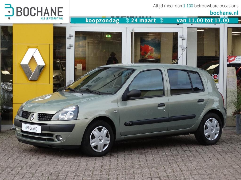 Renault Clio 1.4-16v expression automaat/lage stand