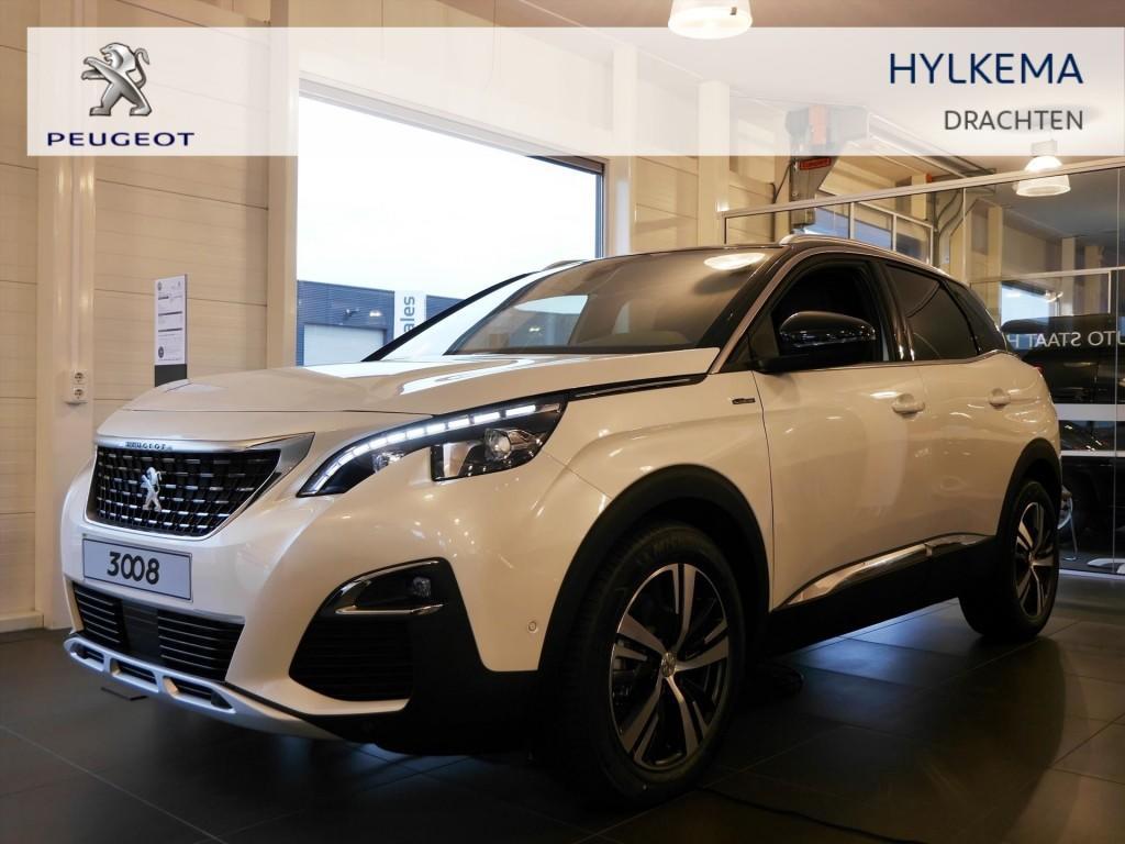 Peugeot 3008 2.0 bluehdi 150pk blue lease gt-line uit voorraad