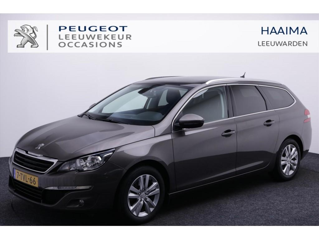 Peugeot 308 Sw blue lease executive 14%