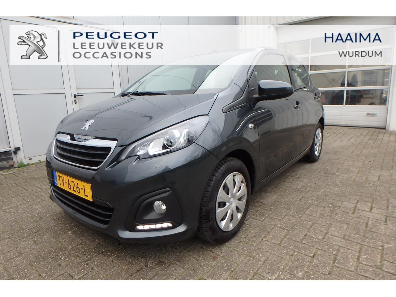Peugeot 108 Blue lease 5-drs. 1.0 e-vti 72pk