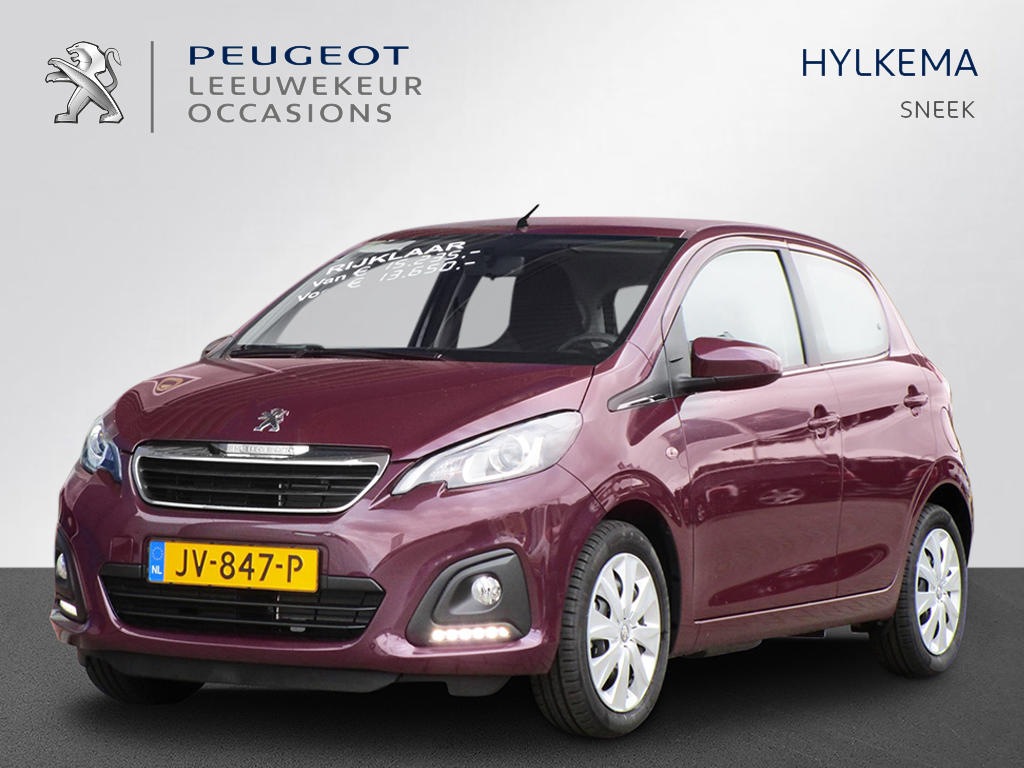 Peugeot 108 1.0 vti 68pk active top