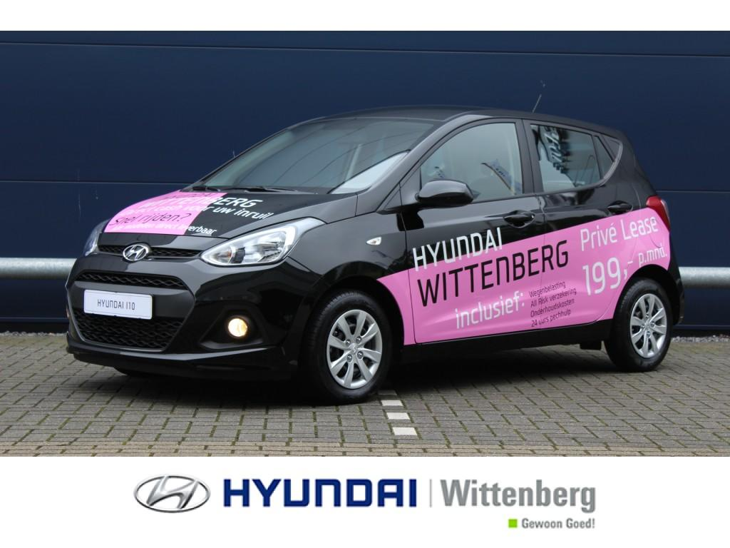 Hyundai I10 1.0i i-motion comfort wittenberg private lease actie !