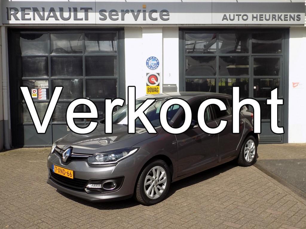 Renault Mégane Tce115 limited - navigatie - climate control - parkeersensoren