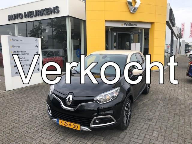 Renault Captur Tce 90 helly hansen *achteruitrijcamera * pack look interieur chroom*