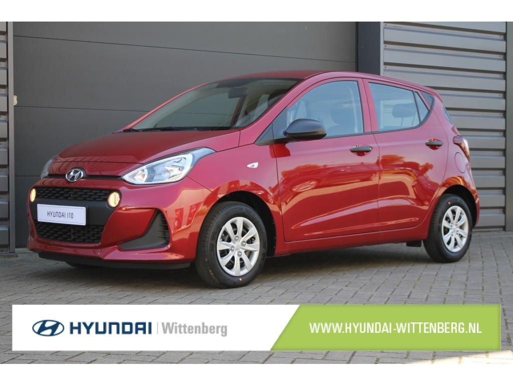 Hyundai I10 1.0i i-motion tax free! €1855 btw korting!