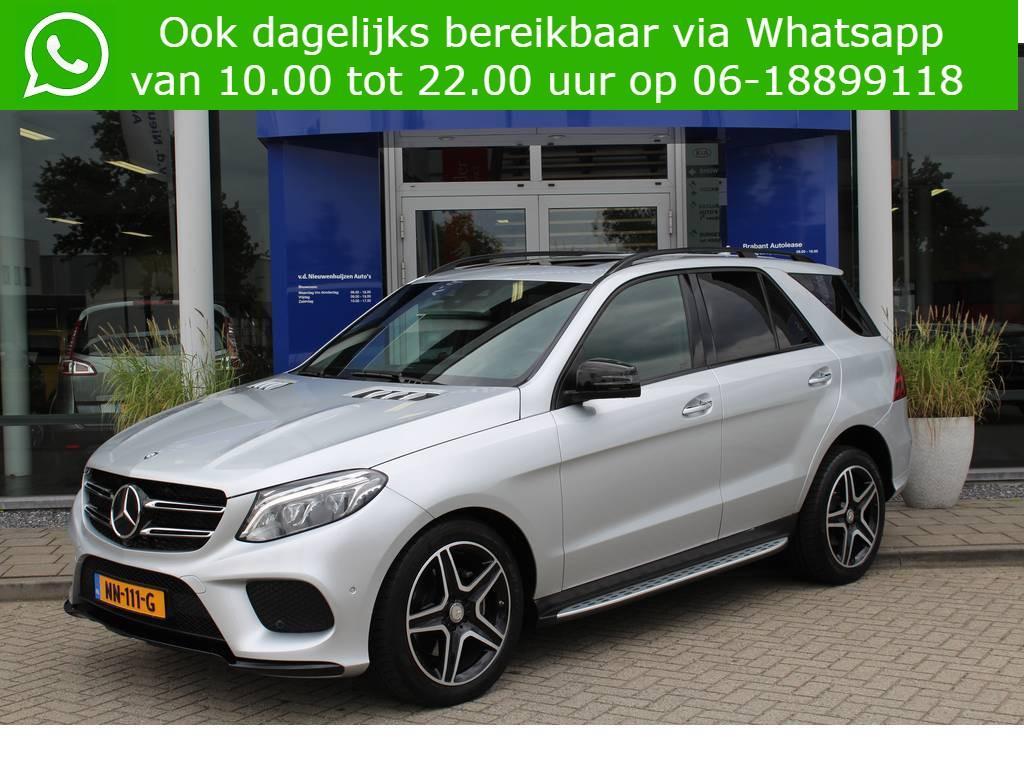 Mercedes-benz Gle Gle 350 d 4matic amg lease vanaf €1299,- p/m b&o sound. nappa leder. schuifdak. comand online. full options!!!!! € 59.950,-