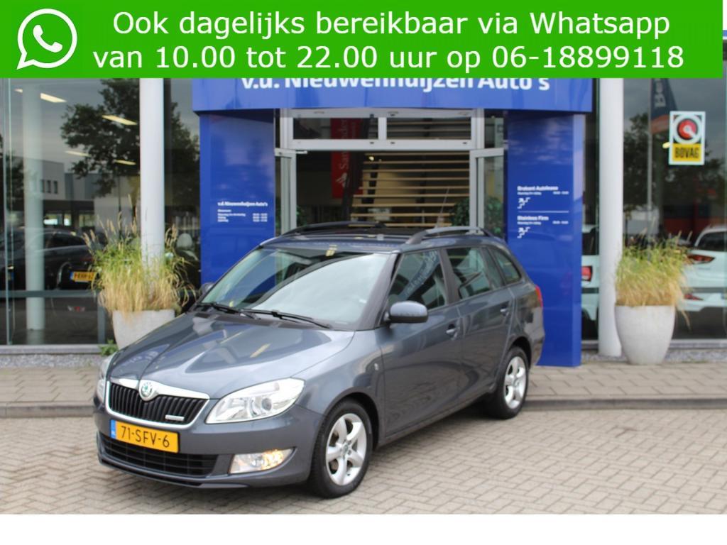 Škoda Fabia Combi 1.2 tdi greenline clima trekhaak  lm velgen 0492-588982 e.elbers@vdnieuwenhuijzen.nl