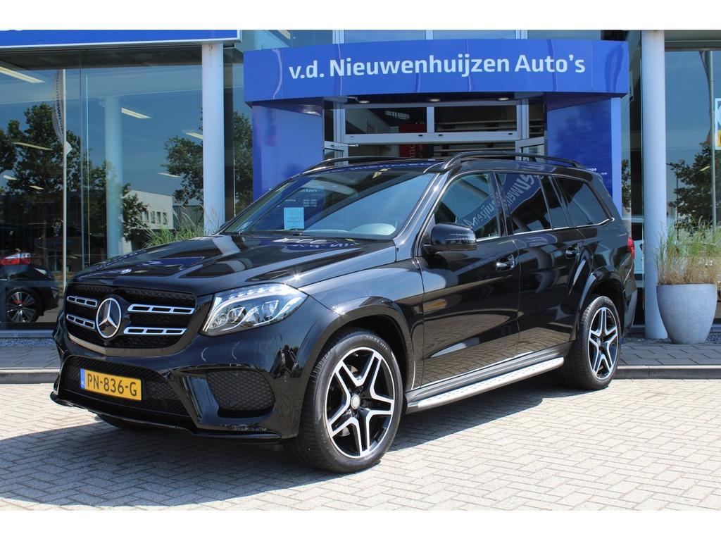Mercedes-benz Gls 350 d 4-matic amg leder night camera 7-persoons vol!! lease vanaf €1799,- p/m