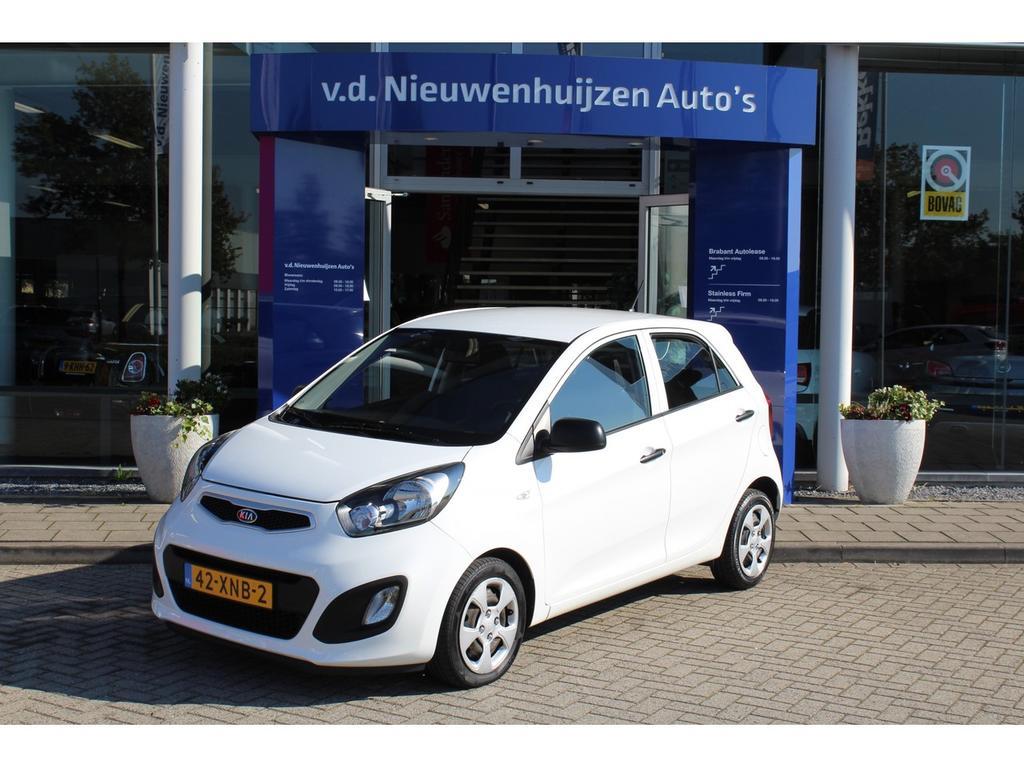 Kia Picanto 1.0 cvvt airco navigatie lease vanaf €99,- p/m 5 deurs