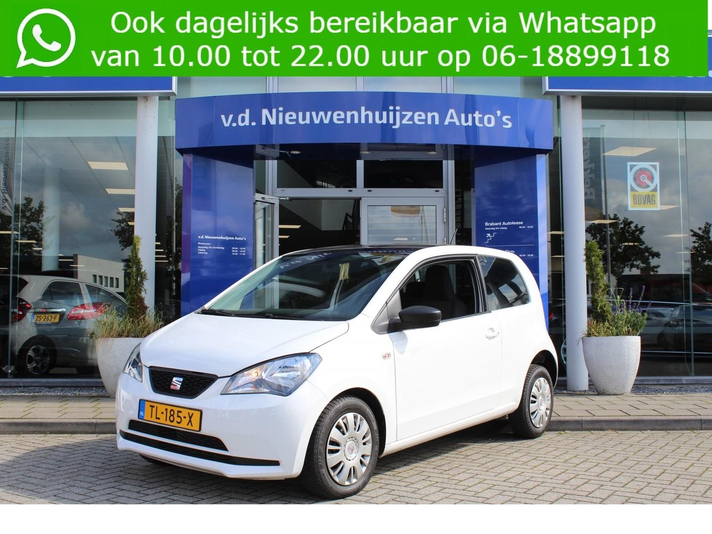Seat Mii 1.0 style chic ecofuel airco lease vanaf € 99,- p/m info 0492588976 m.safari