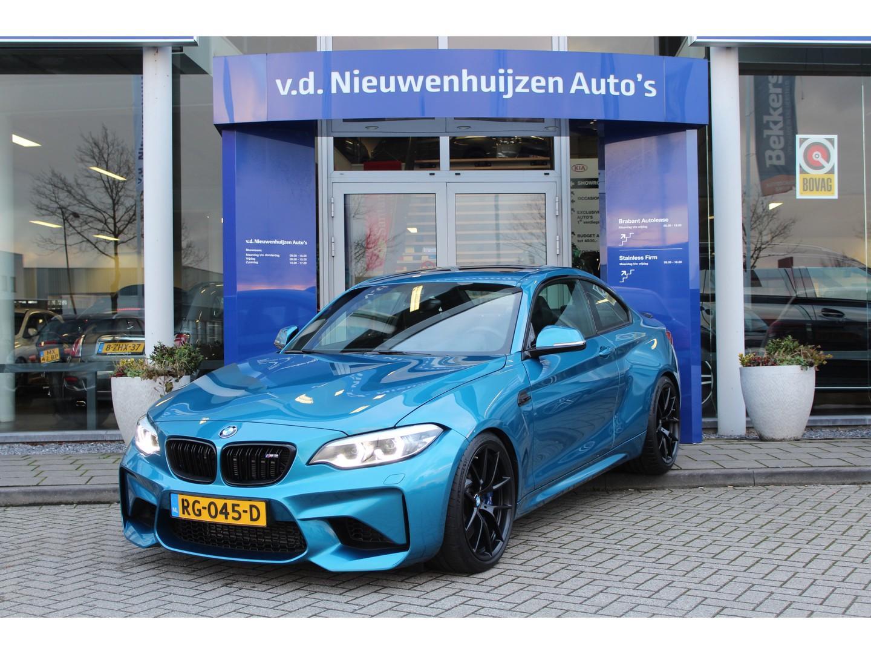 Bmw 2 serie Coupé m2 dct performance package, nieuwstaat, eibach pro, 450 pk