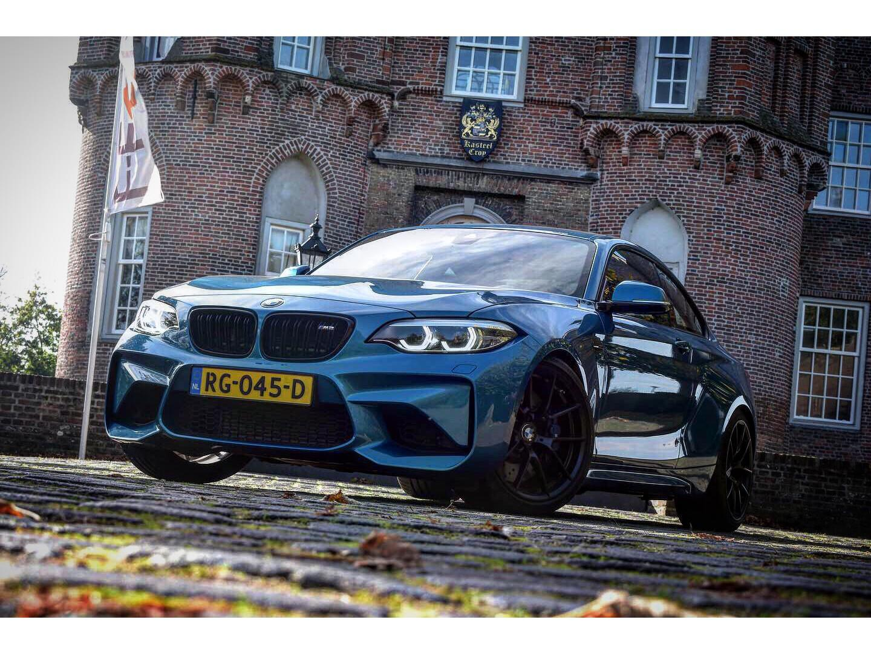 Bmw 2 serie Coupé m2 dct 450 pk, performance package, nieuwstaat, eibach pro € 62.950,-