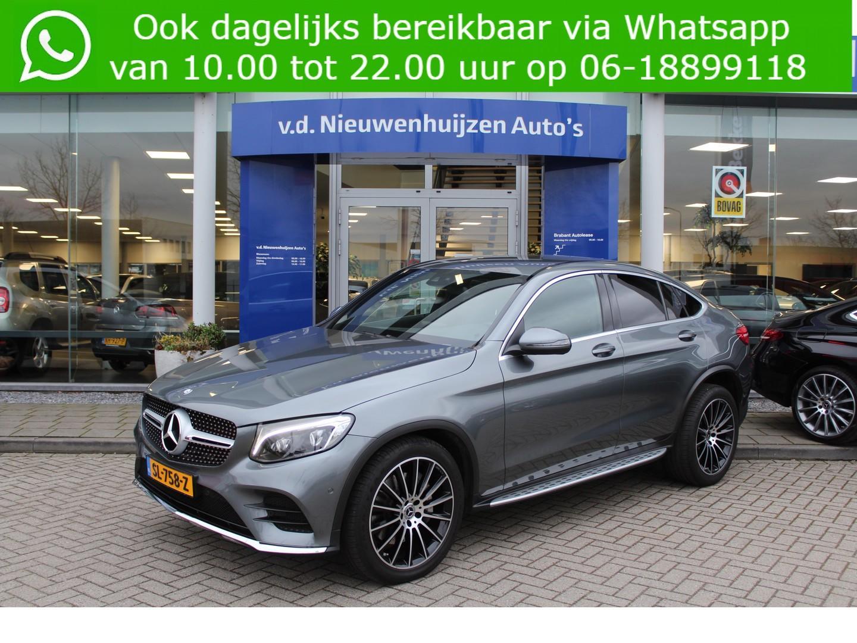 Mercedes-benz Glc-klasse coupé 250 4-matic amg trekhaak 20 inch amg velgen btw lease vanaf € 900 p/m info dhr elbers 0492-588982 of e.elbers@vdnieuwenhuijzen.nl