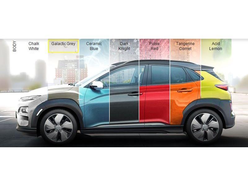 Hyundai Kona Ev premium 64 kwh led , leder, stoelverwarming, navi, climate, full operationele lease prijs v.a. € 699,- p/m full operationele lease prijs v.a. € 699,- p/m