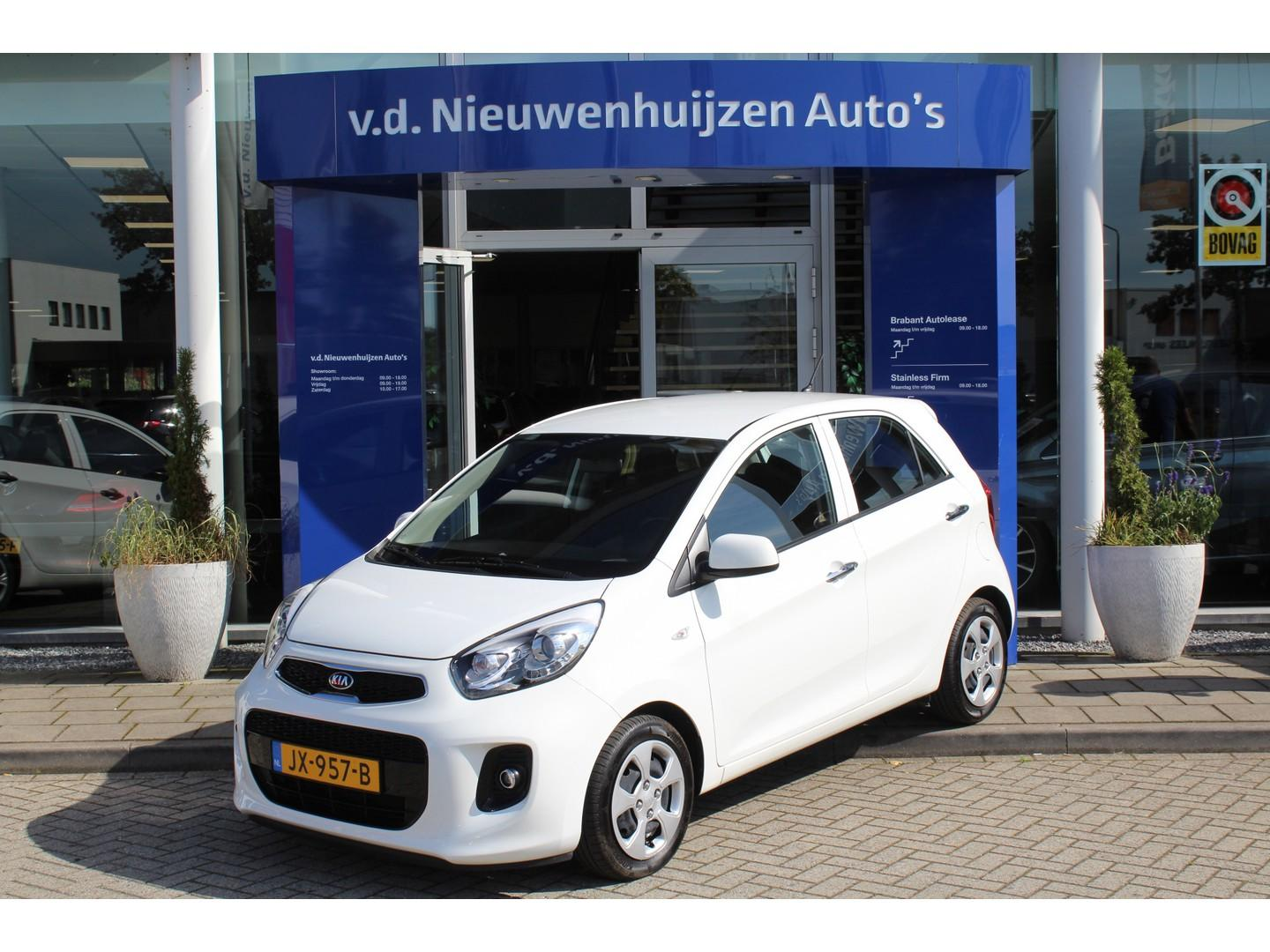 Kia Picanto 1.2 cvvt dynamicline 4 cilinder, climate controle, cruise controle, bluetooth info: dhr elbers 0492-588982 of e.elbers@vdnieuwenhuijzen.nl