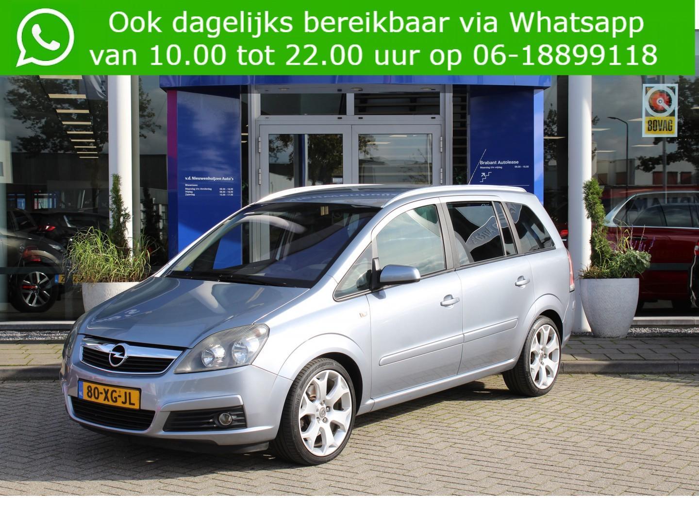 Opel Zafira 2.2 i 150 pk 7 persoons v.a 129 p/m geremd trejkgewicht 1500kg!~ info 0492-588956