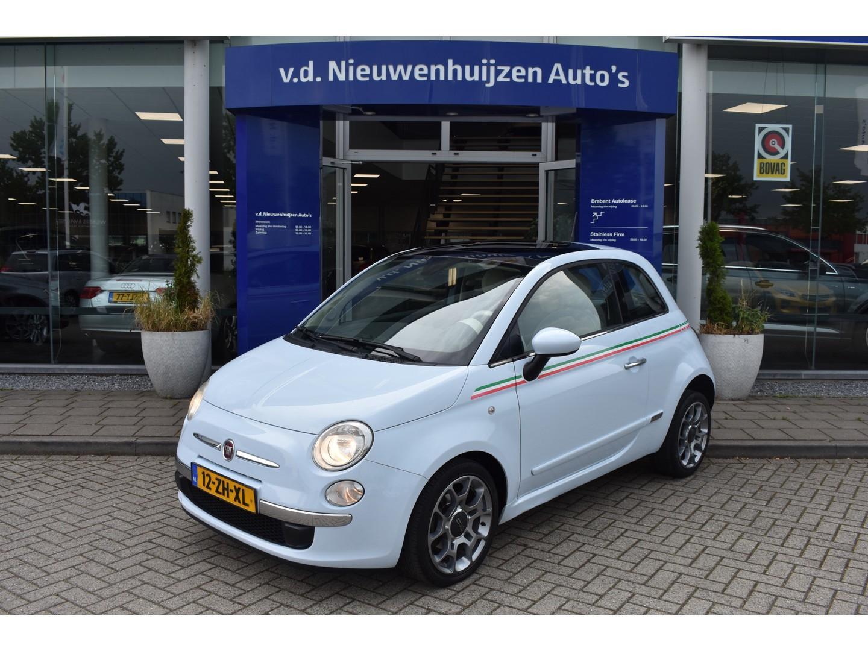 Fiat 500 1.4-16v lounge panodak, info: dhr elbers 0492-588982 of e.elbers@vdnieuwenhuijzen.nl  €6.950,-