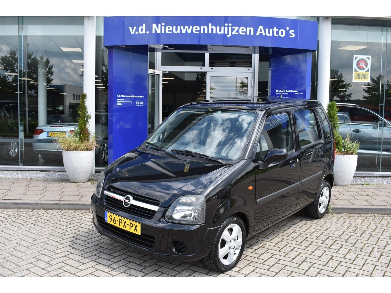 Opel Agila 1.2-16v maxx € 4.445,- 99 p/m airco  lm velgen 5drs    66dkm !!