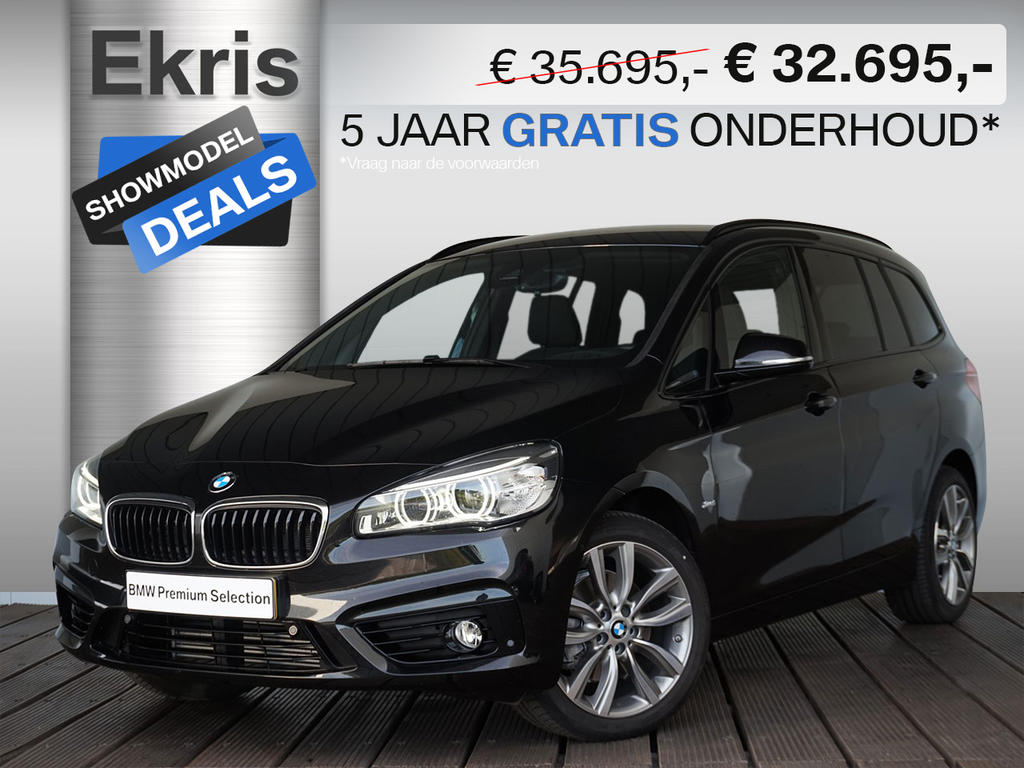 Bmw 2 serie 218i gran tourer aut. executive corporate lease edition - showmodel deal