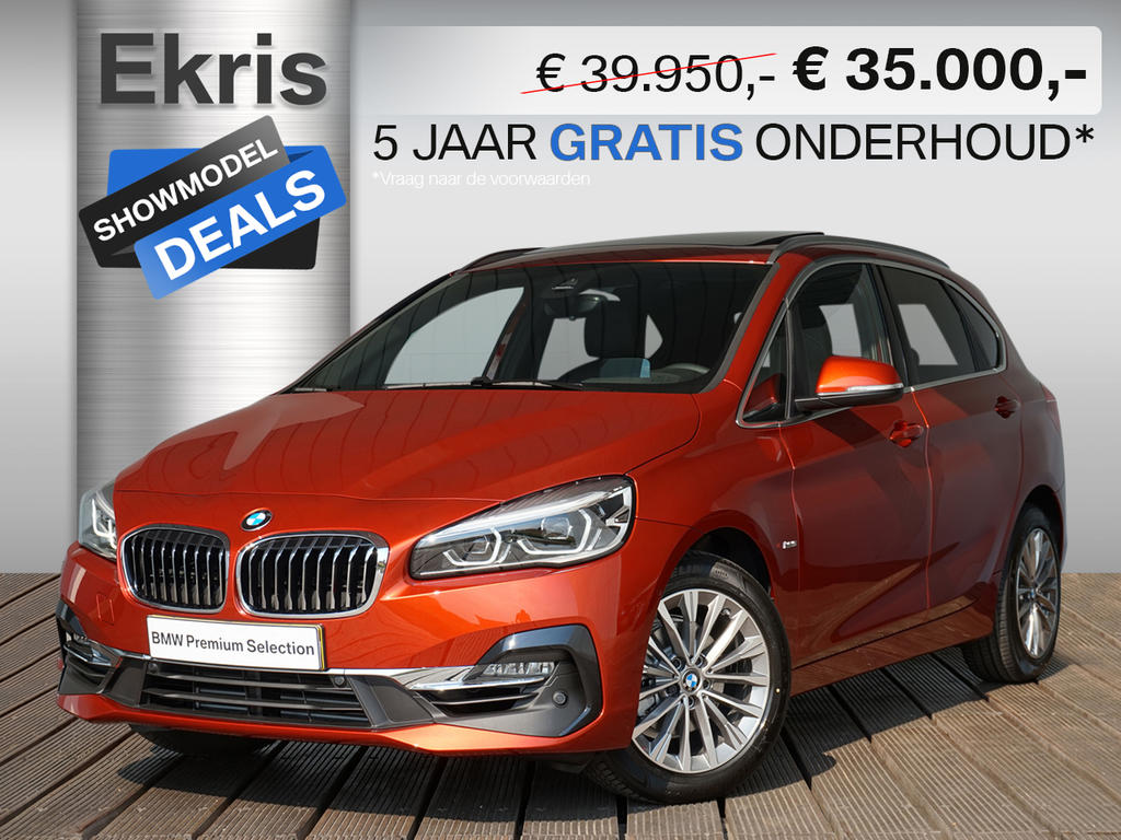 Bmw 2 serie 218i active tourer aut. high executive luxury line - showmodel deal