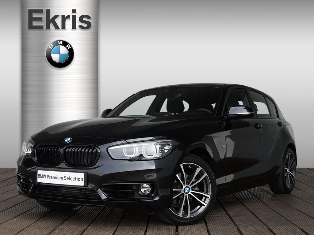 Bmw 1 serie 118d 5-deurs aut. edition sport line shadow high executive