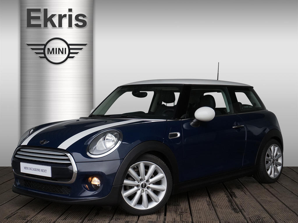 Mini 3-deurs Cooper chili + leder cross punch