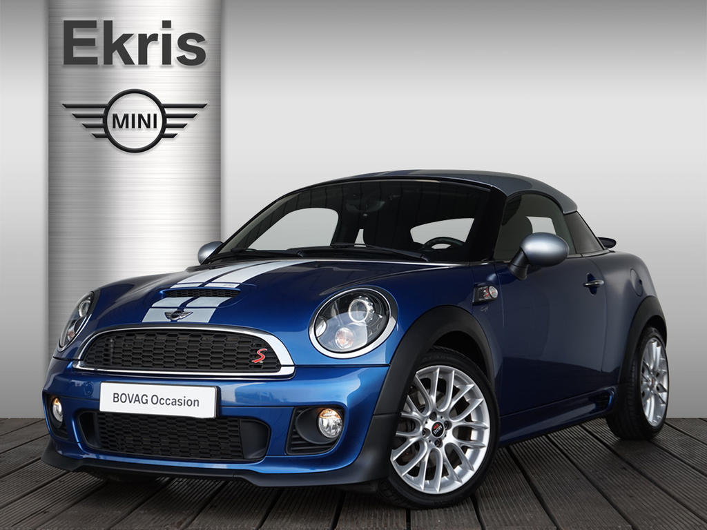 Mini Coupé Cooper s chili + jcw pakket