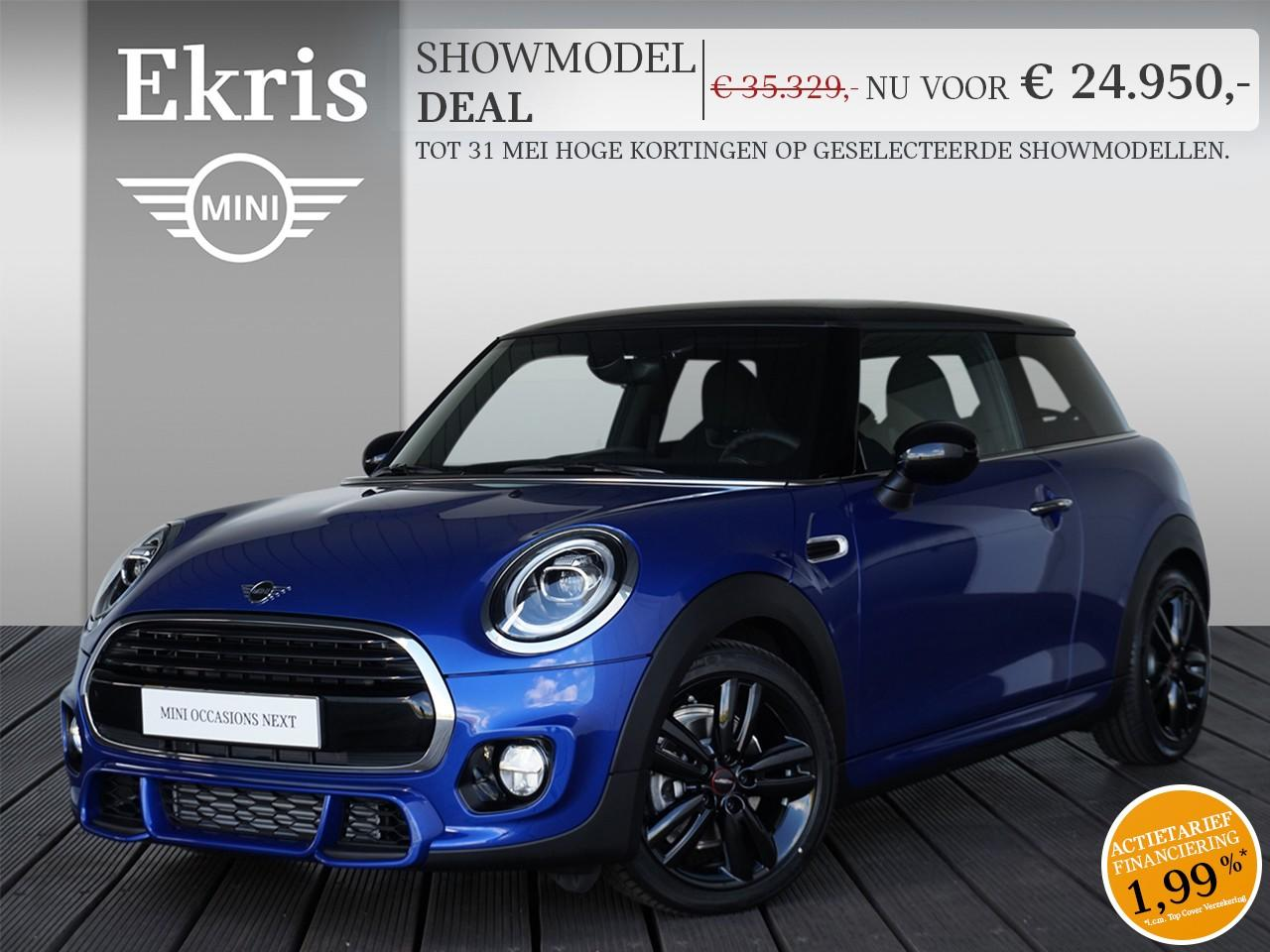 Mini 3-deurs Cooper jcw trim + business plus - showmodel deal