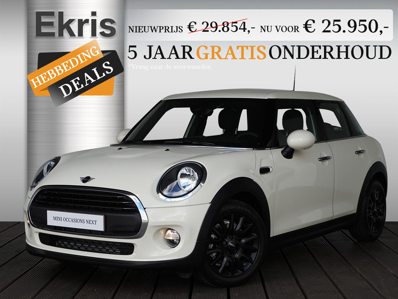Mini 5-deurs One business edition - hebbeding deals
