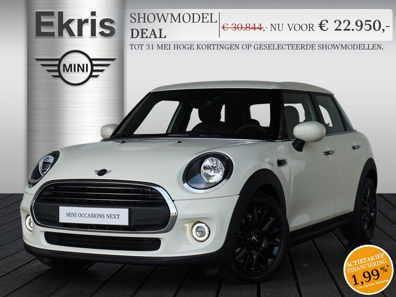 Mini 5-deurs One pepper + business - showmodel deal
