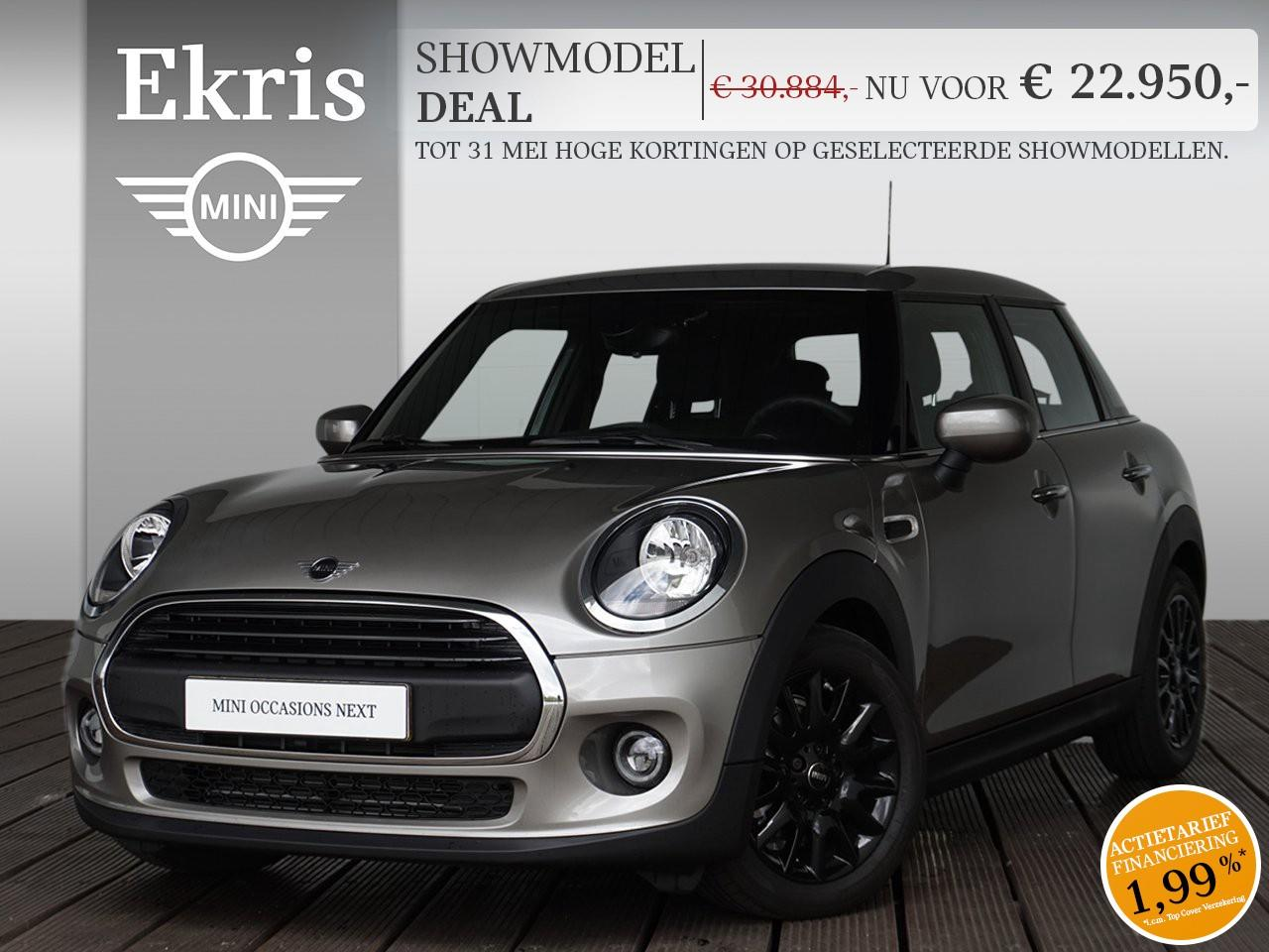 Mini 5-deurs One aut. pepper + business - showmodel deal