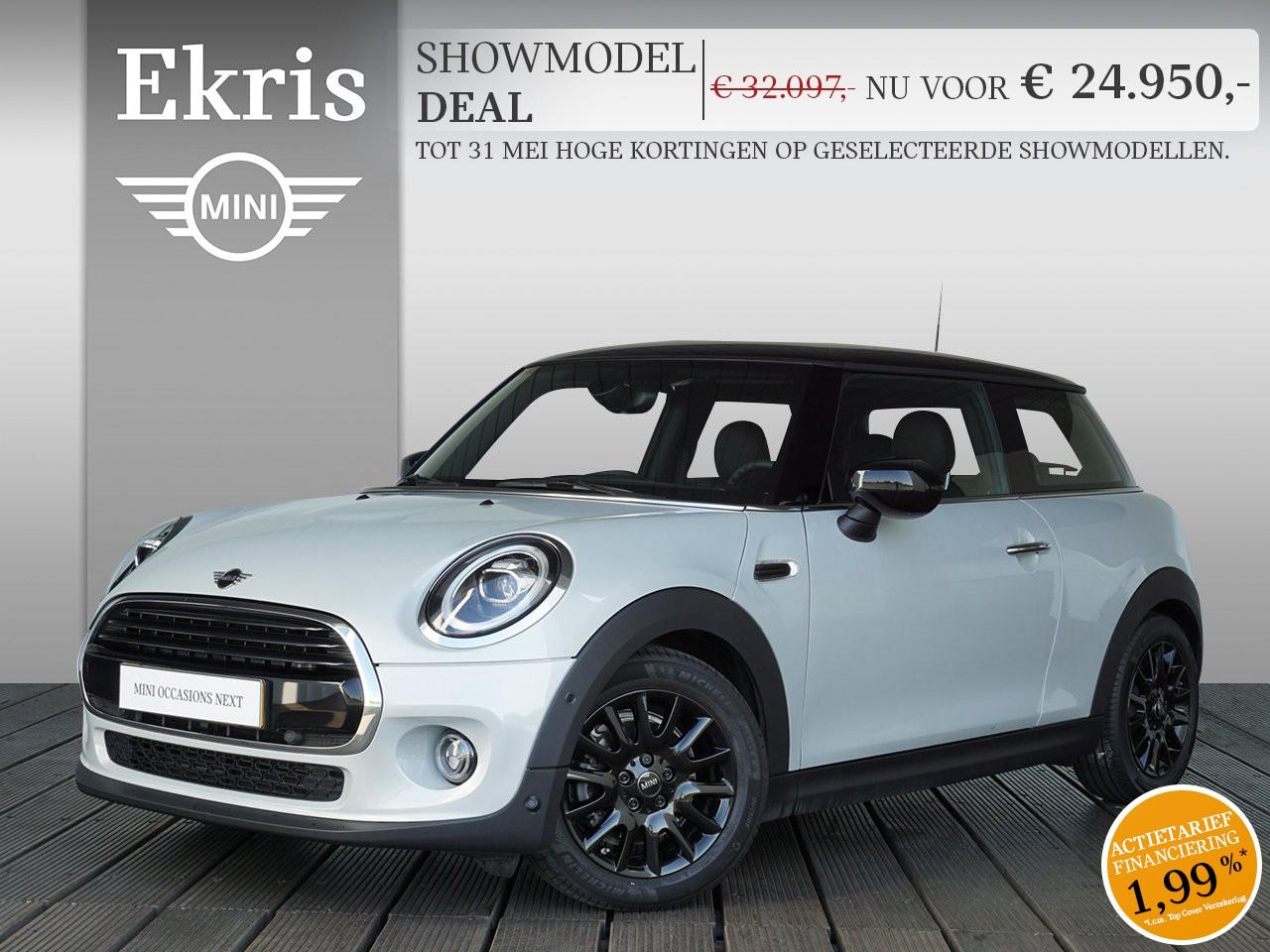 Mini 3-deurs Cooper chili + business - showmodel deal