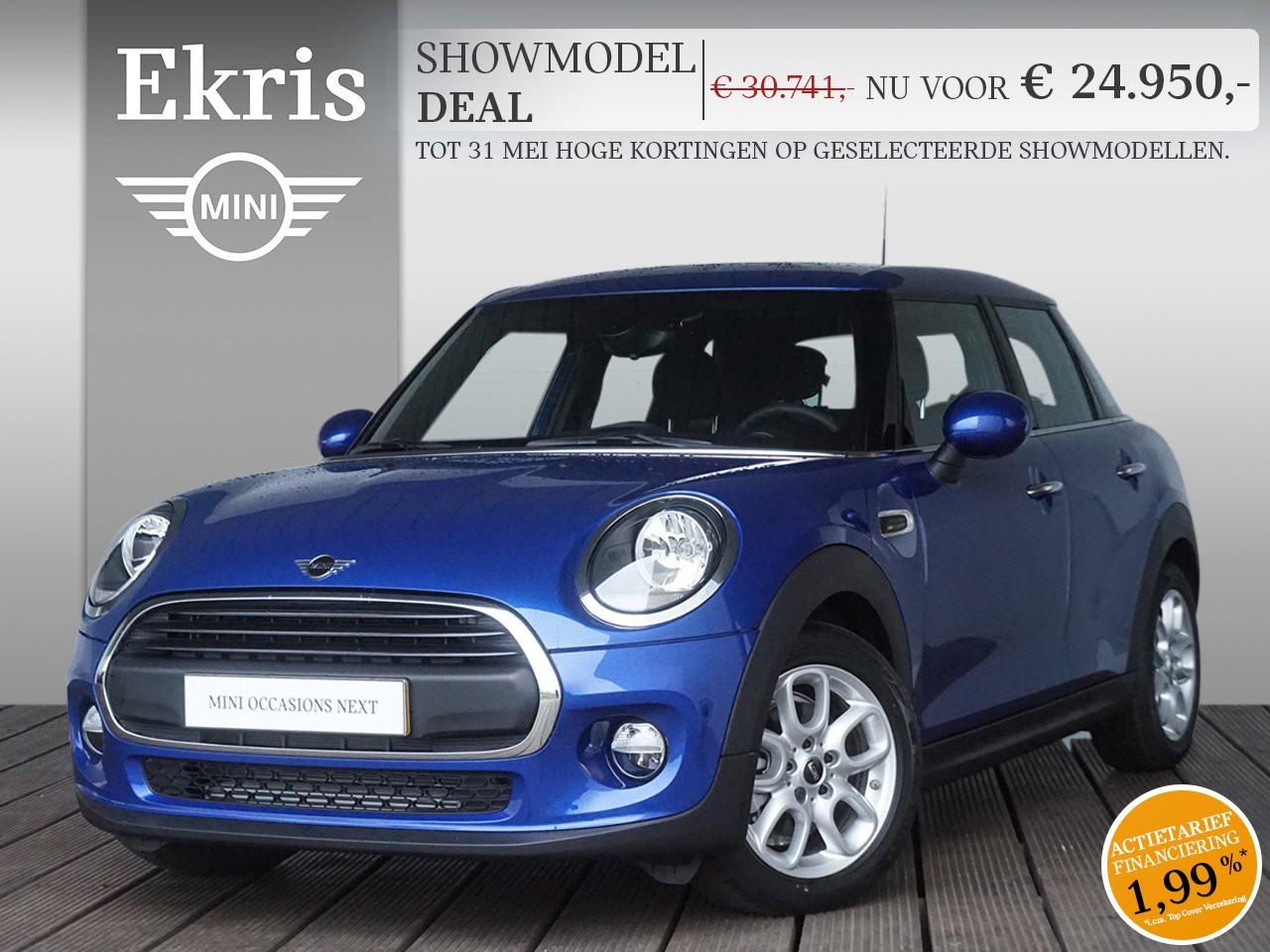 Mini 5-deurs One pepper + business + sportstoelen - showmodel deal