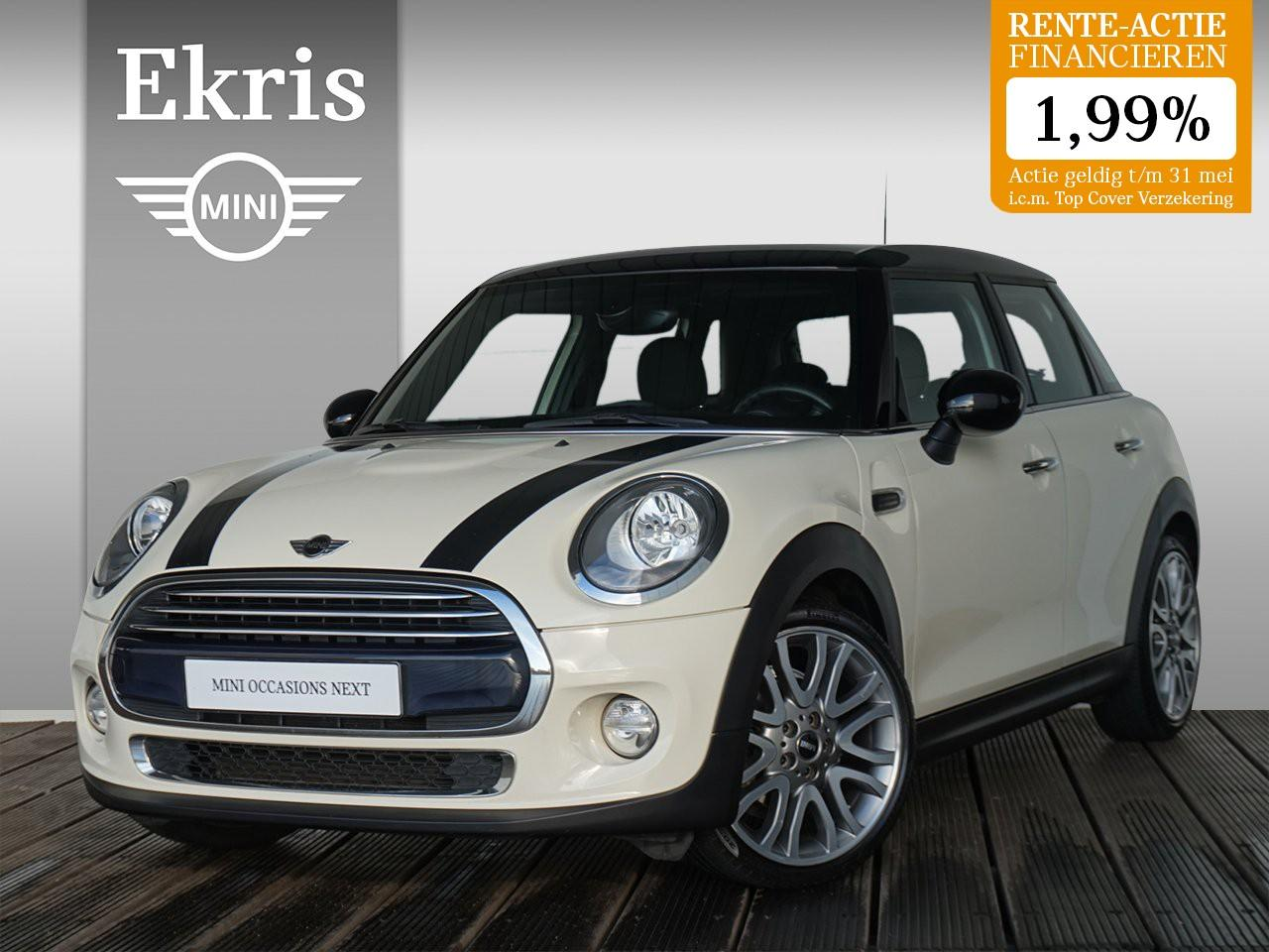 Mini 5-deurs Cooper business + 18 inch vanity spoke